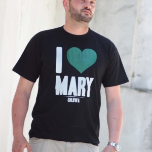 T-Shirt I love Mary 2