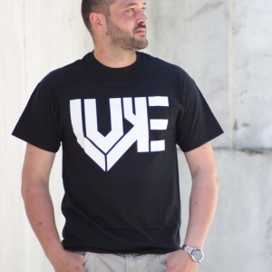 T-Shirt Luke Classic Schwarz