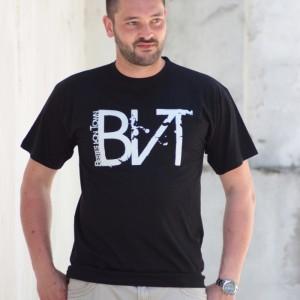 T-Shirt Bestes von Town Classic Schwarz