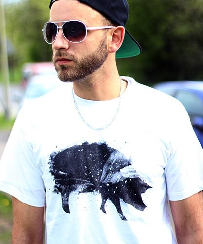 T-Shirt Brush Pig 2